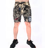 STUDmuffinNYC Acid Grunge Denim Shorts - AVAILABLE FOR IMMEDIATE DELIVERY SIZE 30