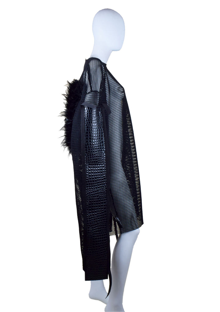 DOPE Mesh Croc with Fur - Long