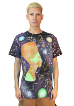 Dark Galaxy Goddess Tee