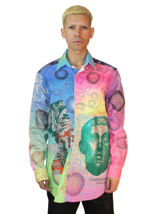 Constantine & Nefertiti Galaxy Shirt