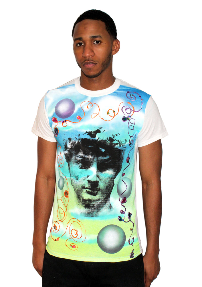 Cosmic David Jeweled T-Shirt