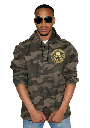 Signature Camo Windbreaker