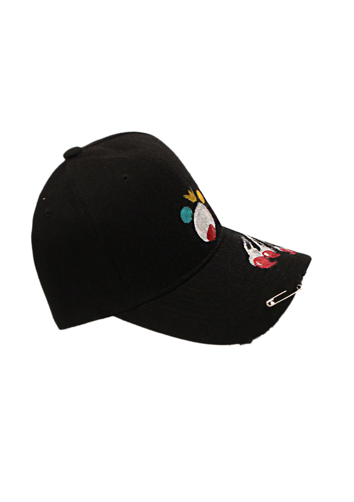Teddy Baseball Cap - Black