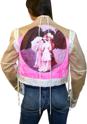 French Ladies Corset Jacket