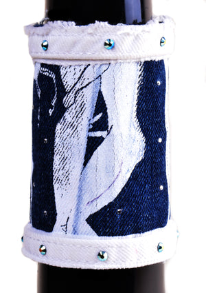 Greek Vacation Denim Cuff - 7