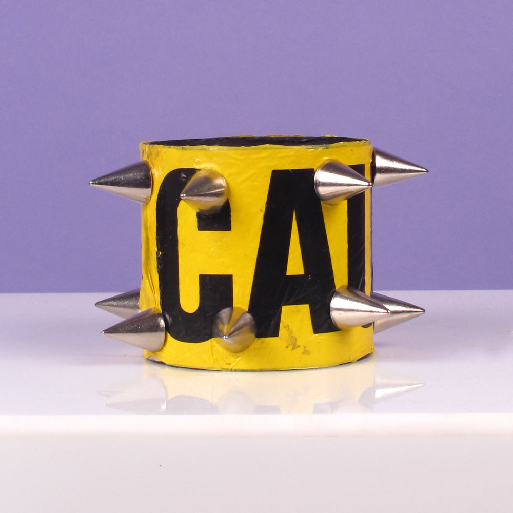 Caution Spiked Cuff