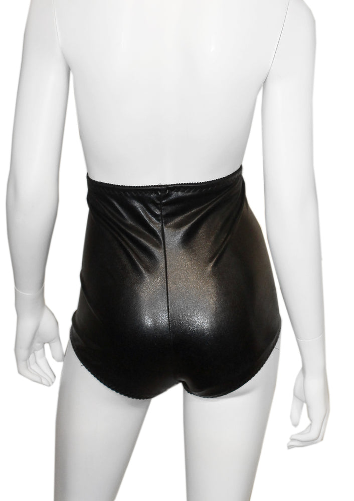 The Sequin Black High Waist Panty