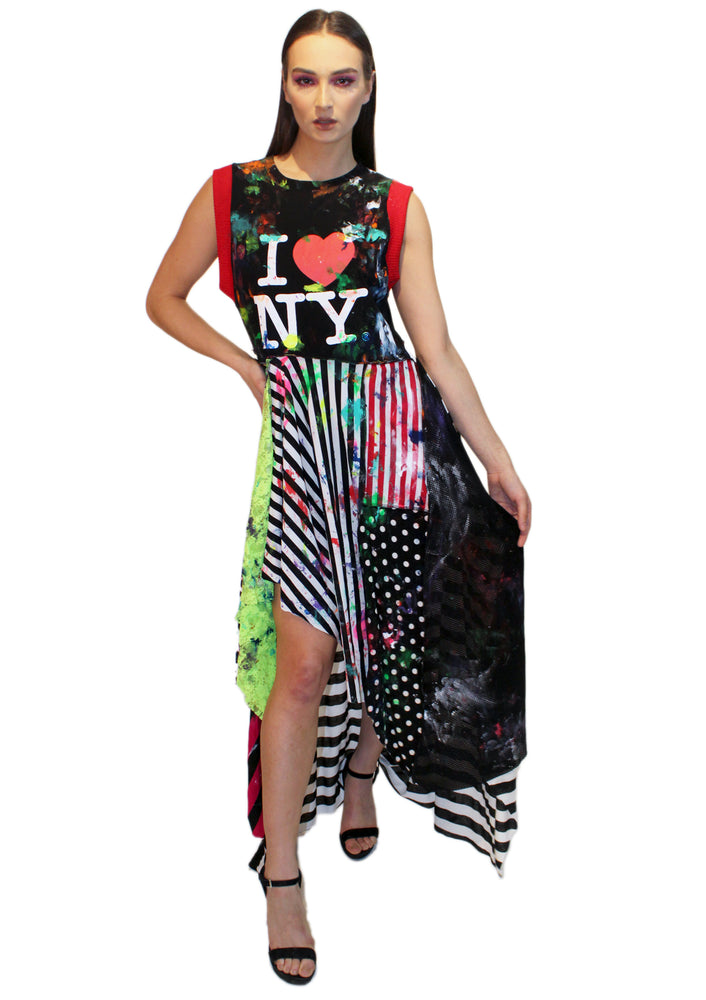 DOPE 'I ❤️ NY' Dress - Black