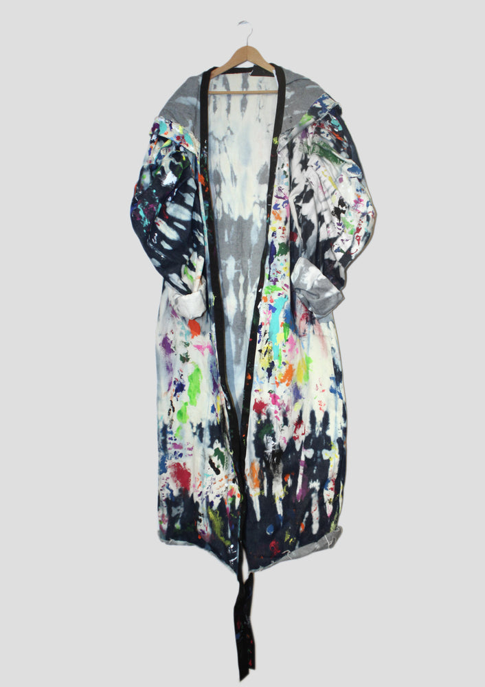 DOPE Painters Hooded Denim Robe