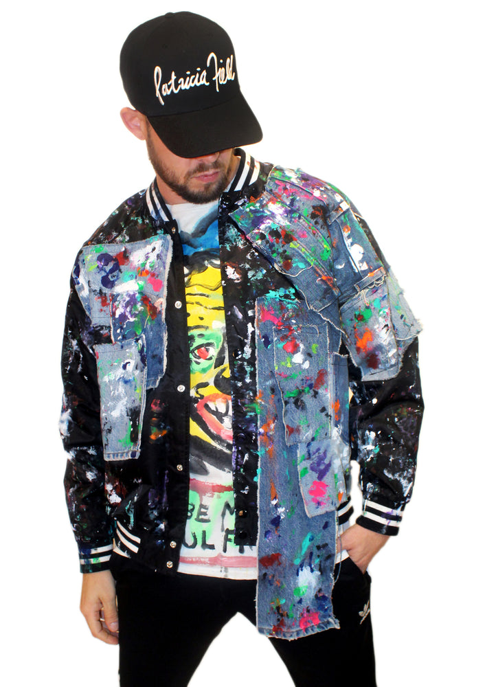 DOPE Painted Jean Sports Jacket