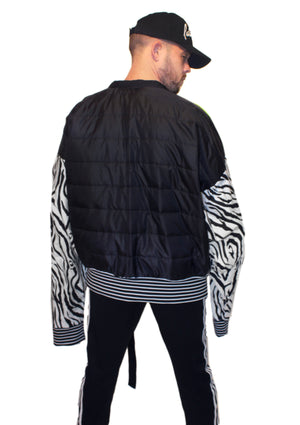 DOPE Animal Craze Crop Jacket