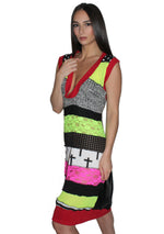 DOPE Patchwork Jersey Dress
