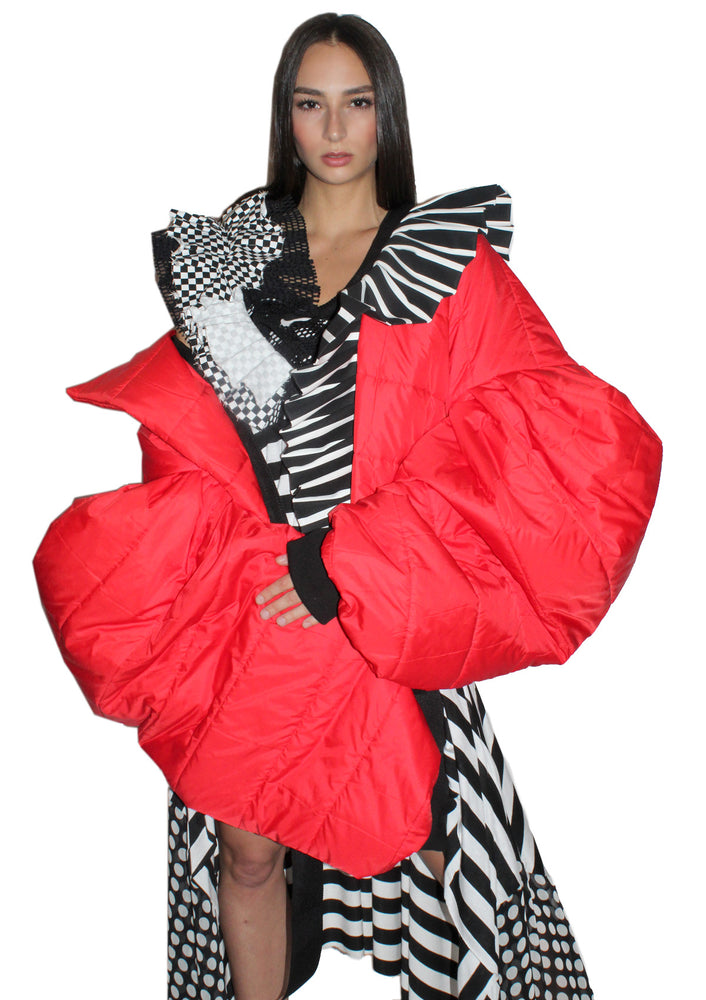 DOPE Sleeper Ruffle Coat