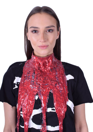 Glitter Whore Drip Collar - Rouge