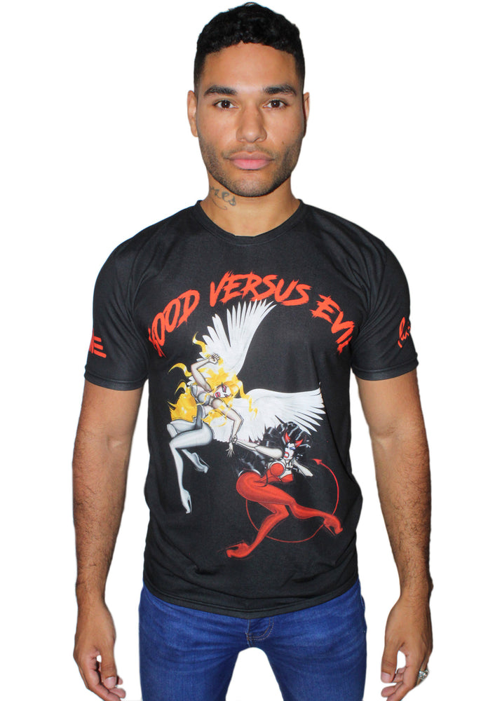 MARTINE Good VS Evil T-Shirt