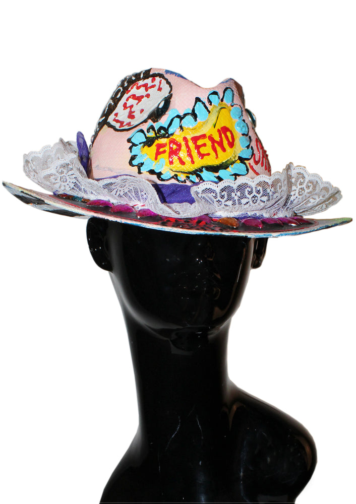 Best Friend Ruffles Fedora