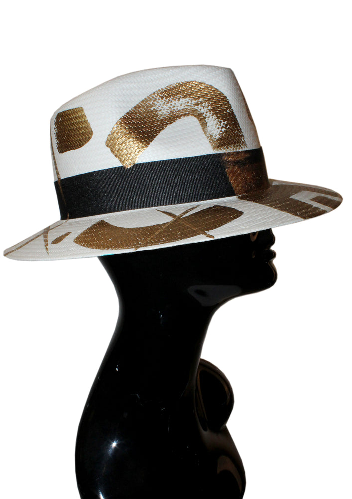 Midas Touch Painted Fedora