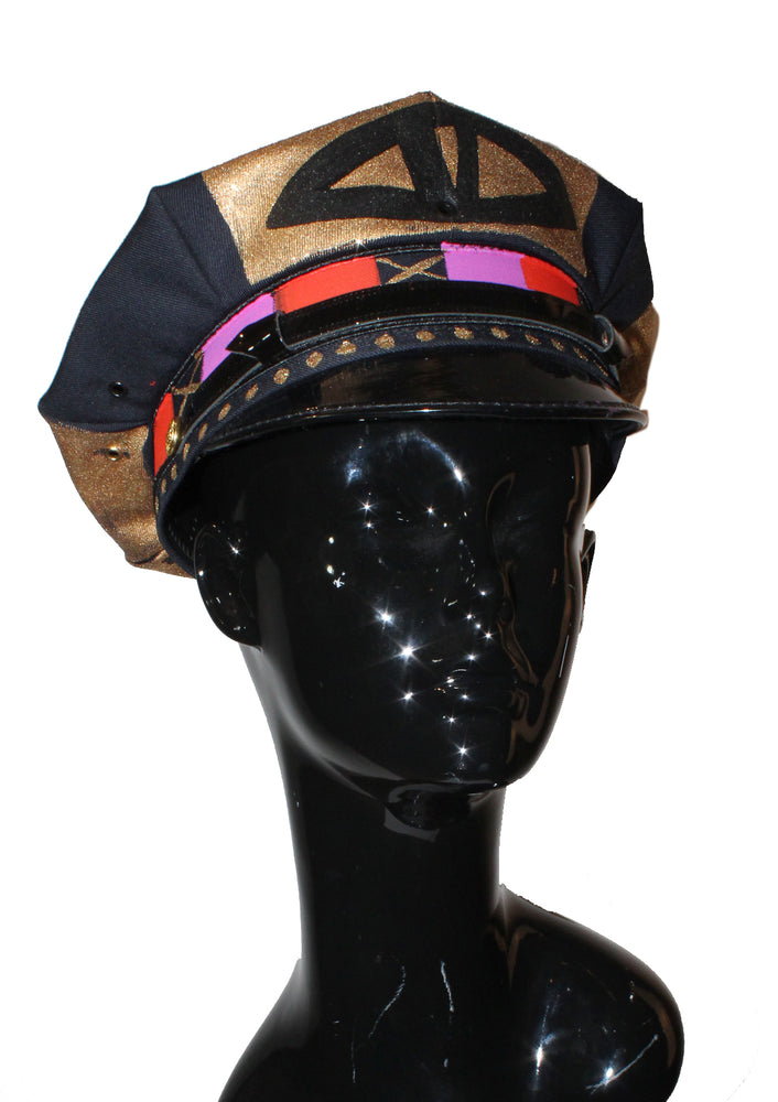 Painted Motorcycle Hat - Large