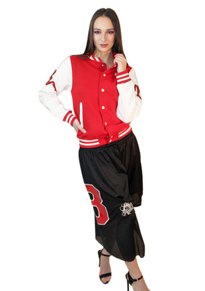House of Field Mudflap Varsity Jacket
