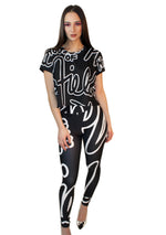 House of Field Logo High Waist Leggings
