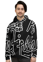 House of Field Logo Hoodie - Black