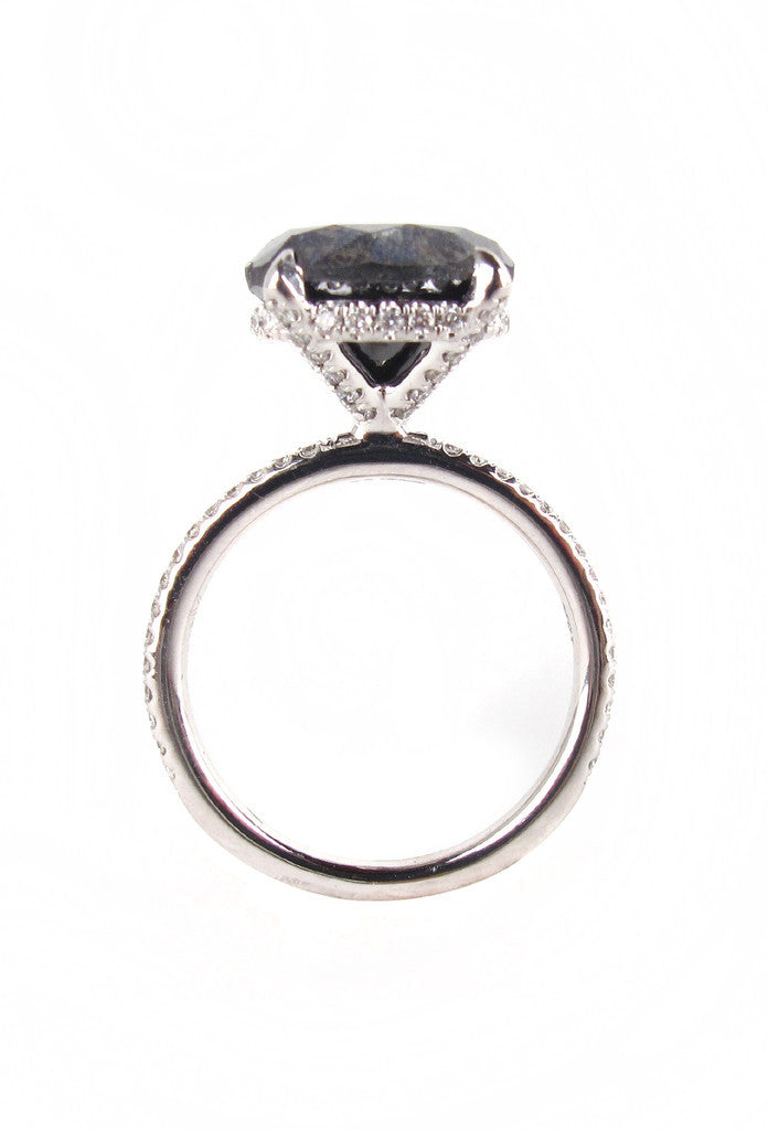 william solitaire diamond in ring product black gold jewellery carat white