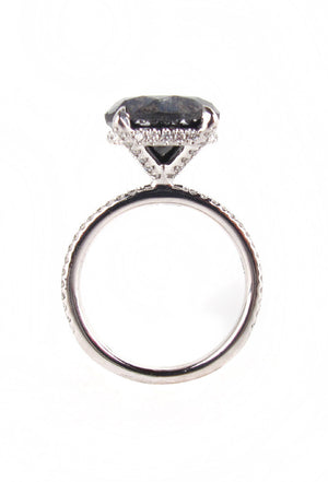 Carrie S Black Diamond Engagement Ring Patricia Field Artfashion