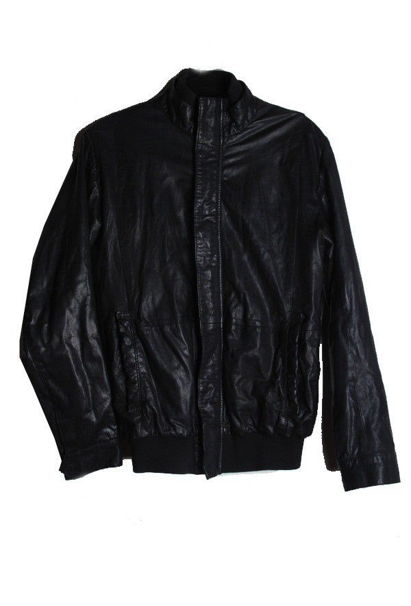 Suzanne Mallouk 'Truth Happens to an Idea' Genuine Leather Jacket - IMMEDIATE DELIVERY MENS SIZE XS