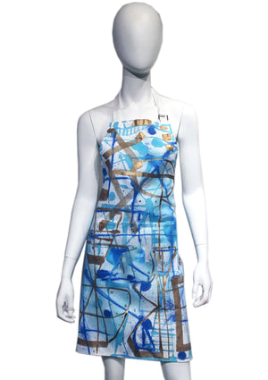 Custom Abstract Morlock Apron 01