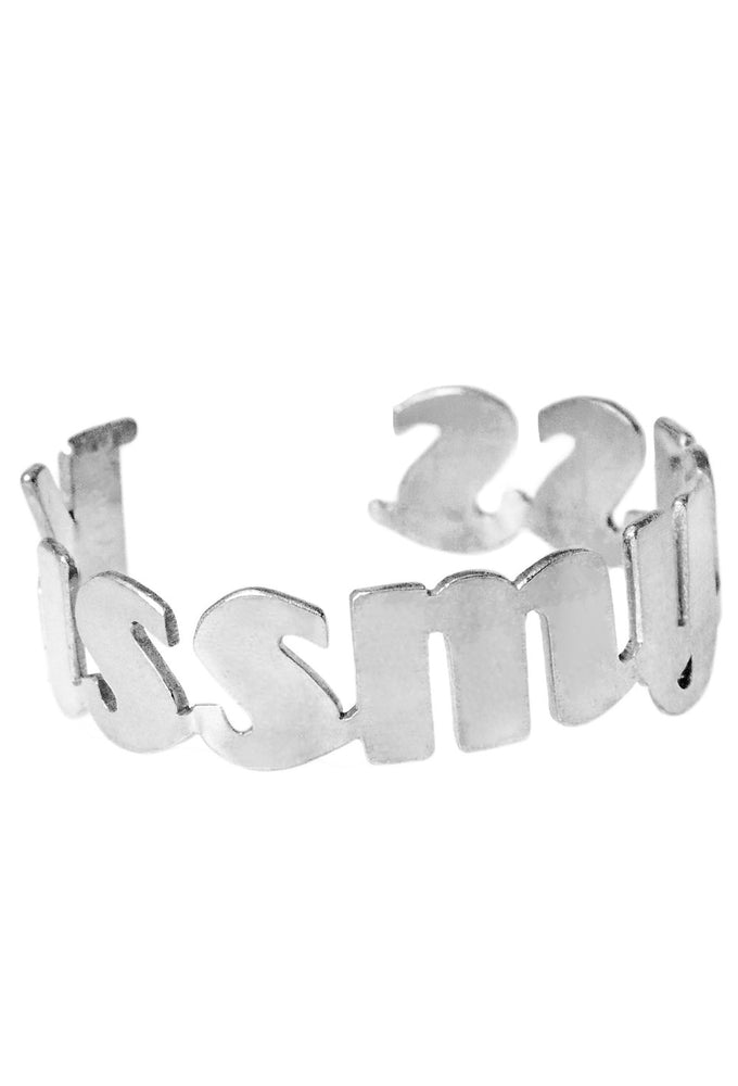 KISS MY ASS Cuff