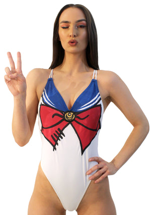 Sailor Luna Swim Suit