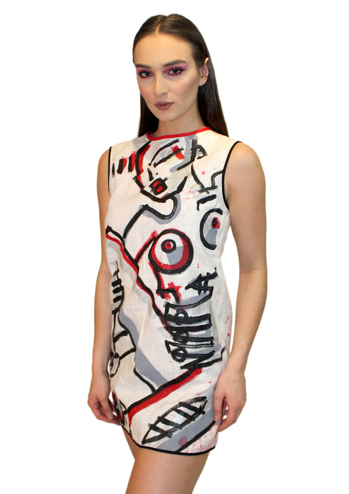 Living Canvas Mini Dress
