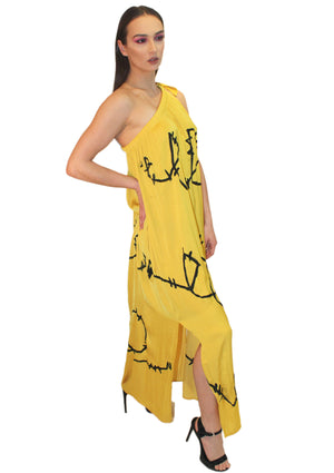 Goddess Summer Silk Dress
