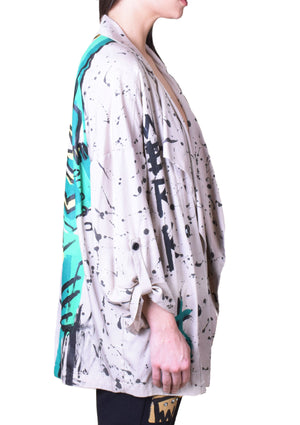 Lady Luck Open Blouse Shirt