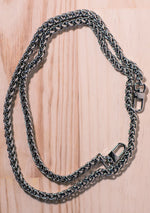 Silver Lara Face Mask Chain