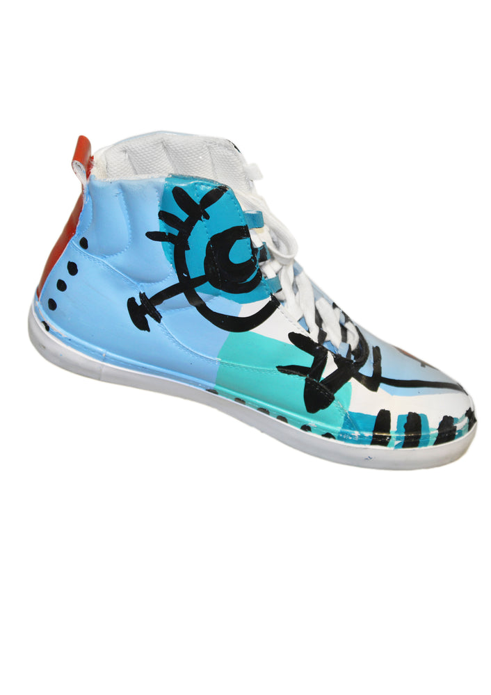Aquamarine High Top Sneakers