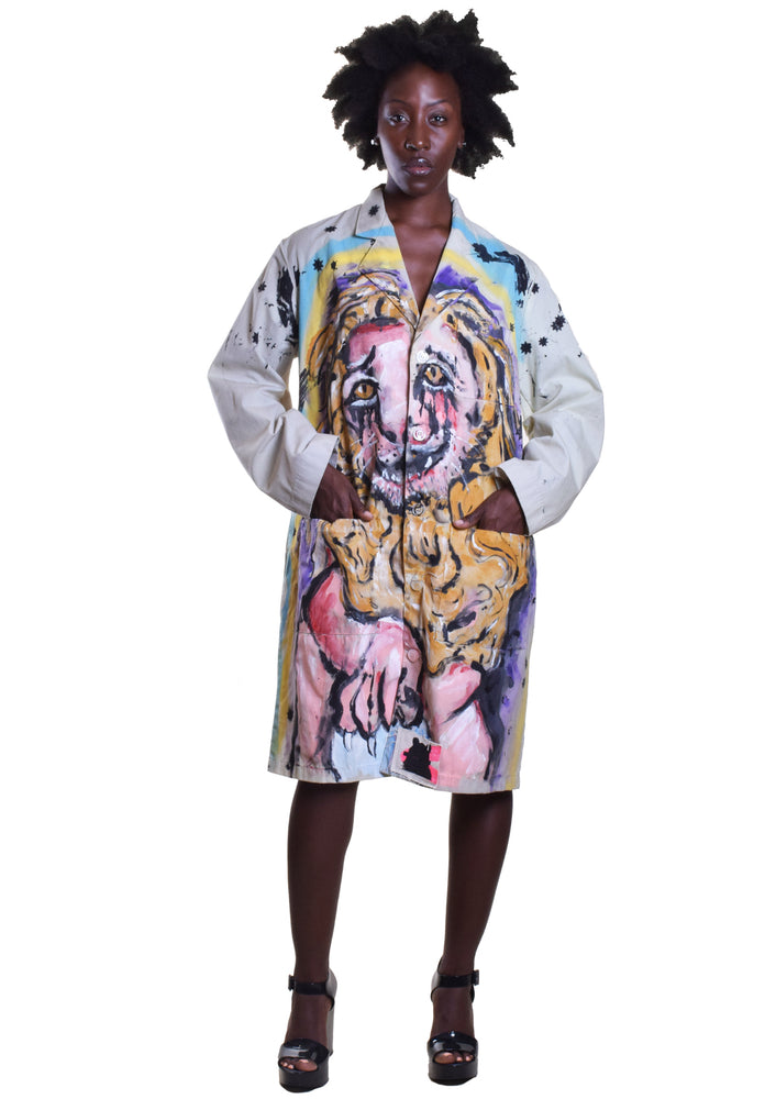 Lion Lab Coat