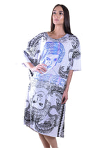 Princess Di Printed Long Tee