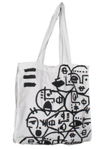 Many Faces Tote Bag