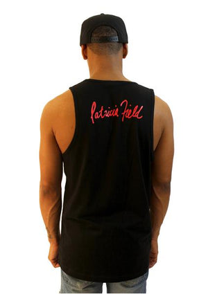 HOF x MARTINÉ Embroidered Tank - Black