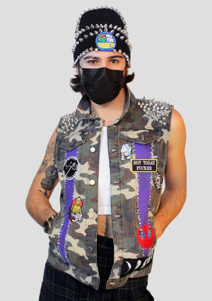 Saint Marks Patches Vest