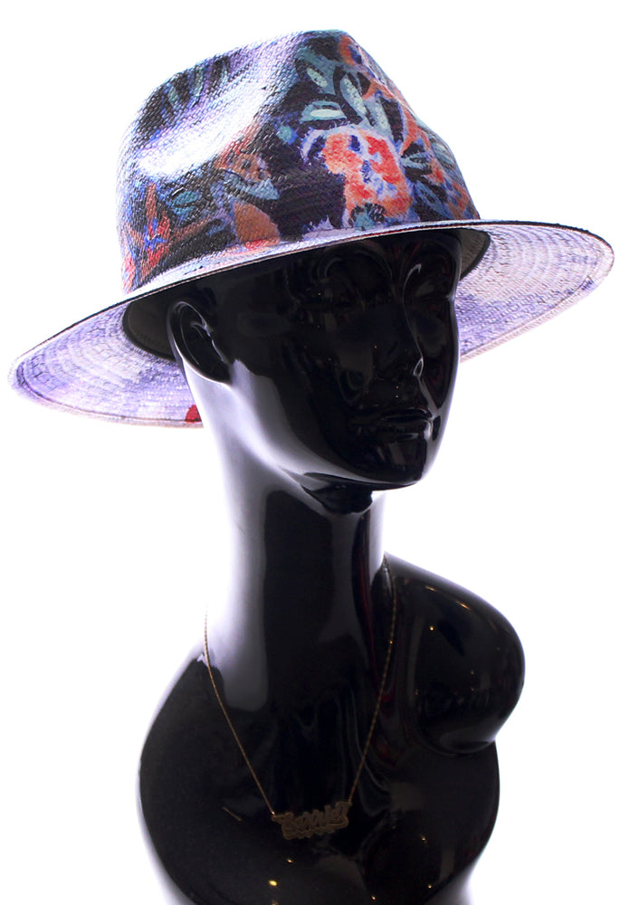 'Flora' Painted Fedora