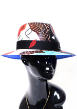 'Ladies' Painted Fedora