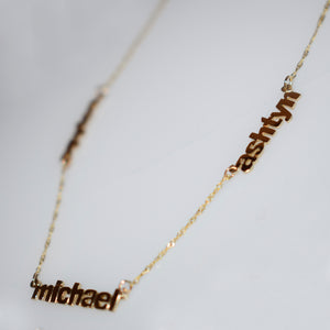 14K Gold 'All My Children' Necklace