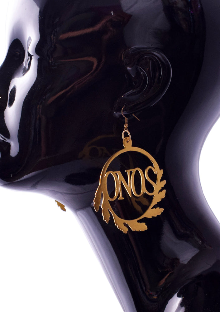 MYKONOS Goddess Hoop Earrings