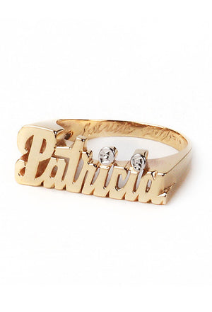 Custom Nameplate Small Ring