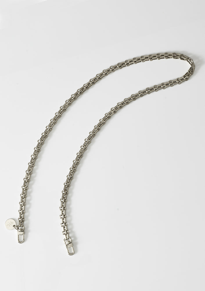Patricia Silver Face Mask Chain