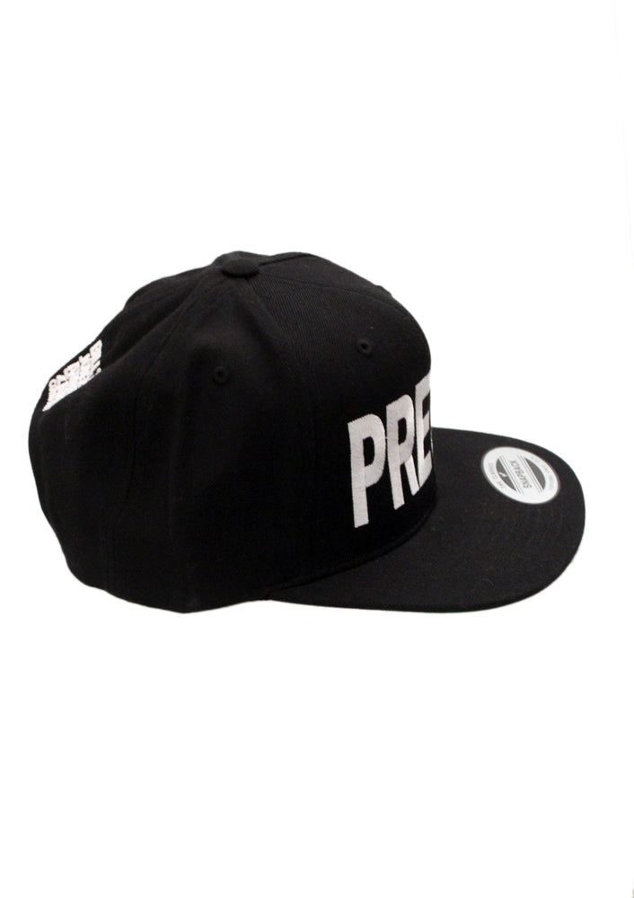PRETTY Snapback Hat - White