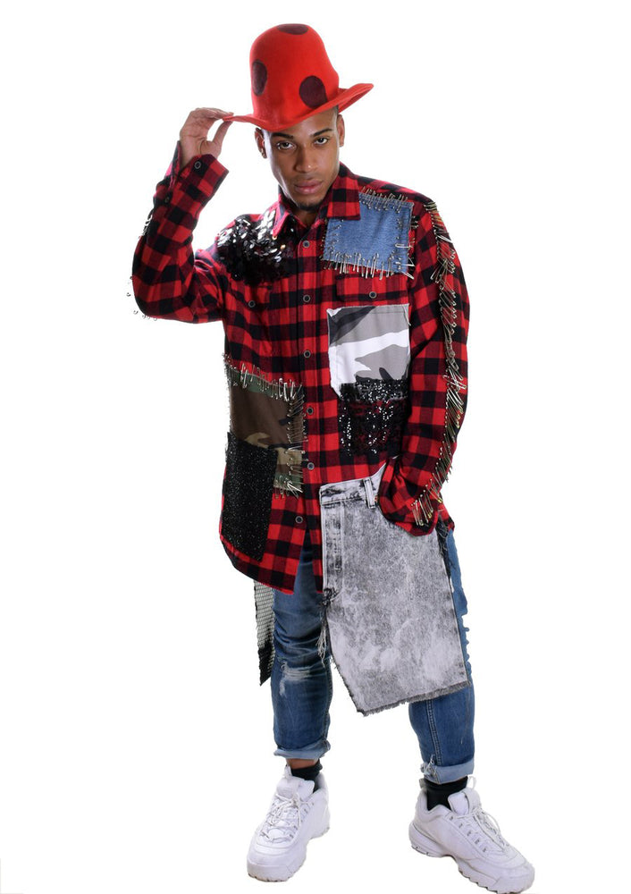 DOPE Acid Wash LumberJack Shirt