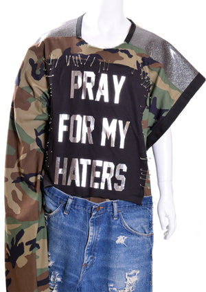 DOPE Pray For My Haters Poncho